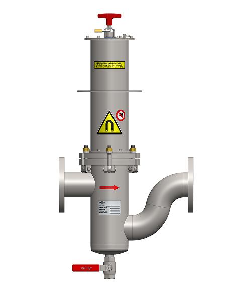 Durchfluss-Magnetabscheider MF - UP